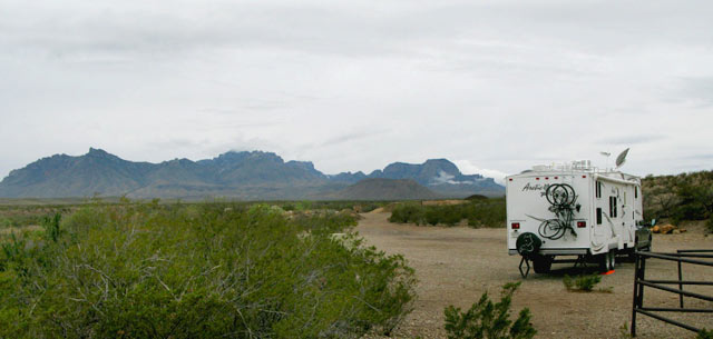 Big Bend Boondocking
