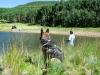 Fishing at Joe Bob Lake
