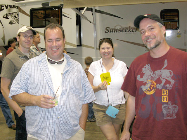 NuRVers at Austin RV Expo Bar