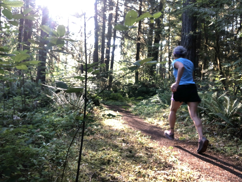 Westfir Oregon running trails