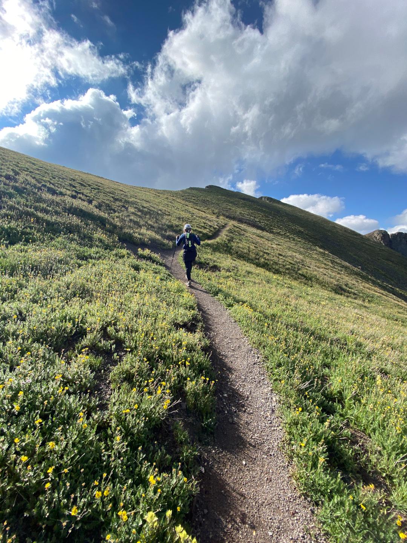 Trail Running Handies Peak