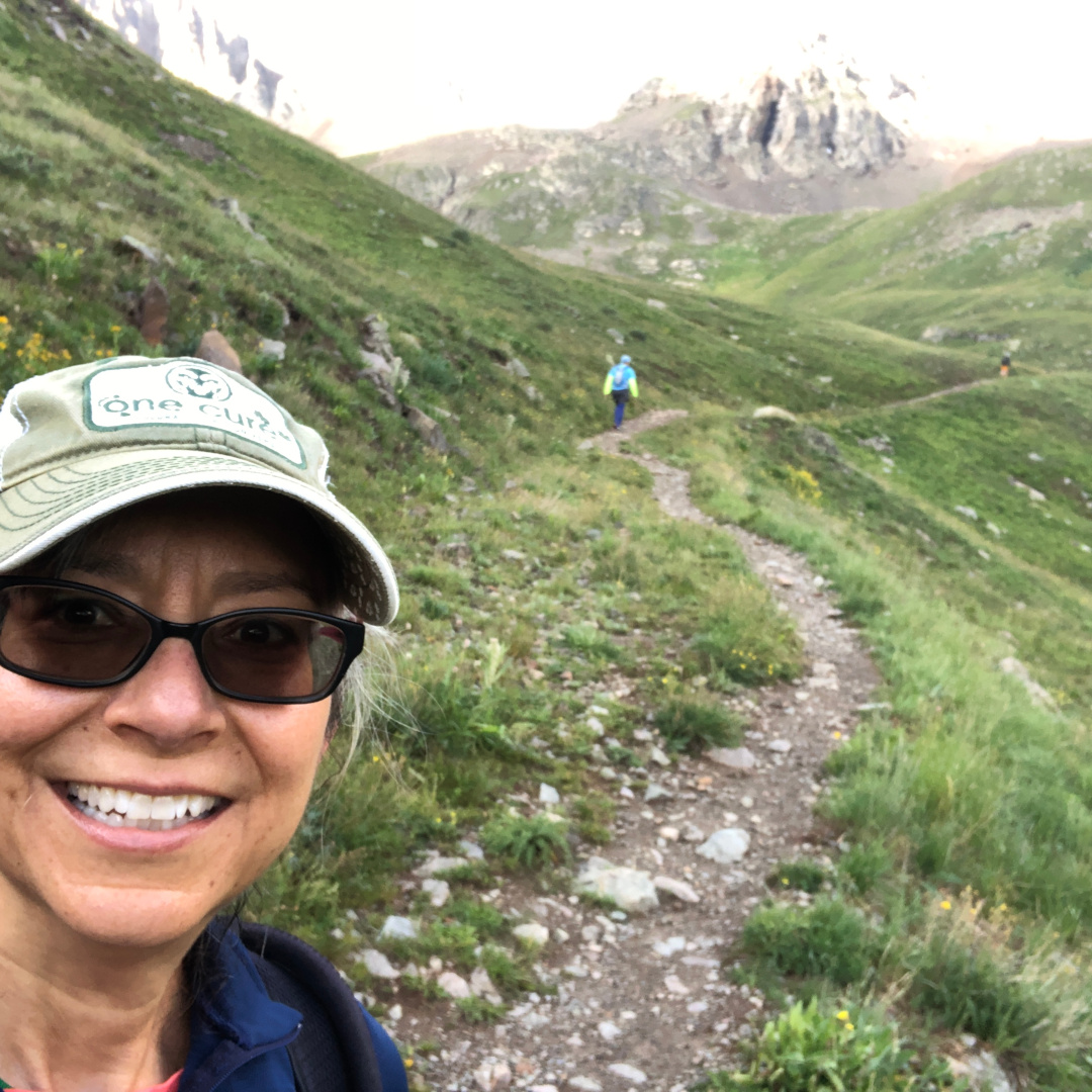 Handies Peak American Basin trail running