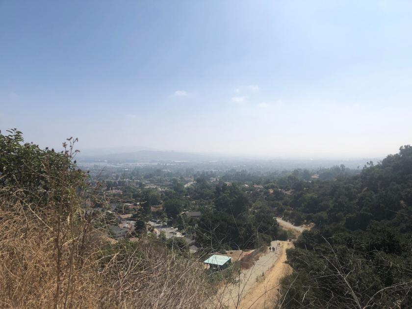Bonelli Park trail hike