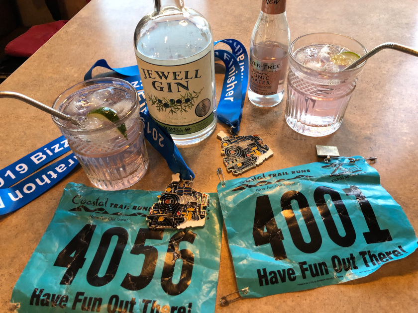 Marathon cocktail hour