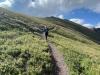 Trail Running Handie's Peak Hike