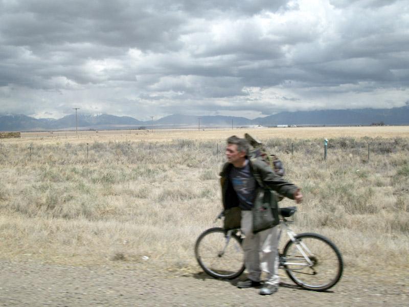 Potential roadkill along HWY 285 in Colorado