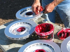 Titan Trailer Disc Brakes Installation, packing wheel bearings
