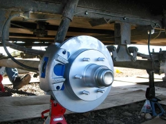 Titan Trailer Disc Brakes Installation