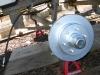Titan Trailer Disc Brakes Installation, Hubs Mounted
