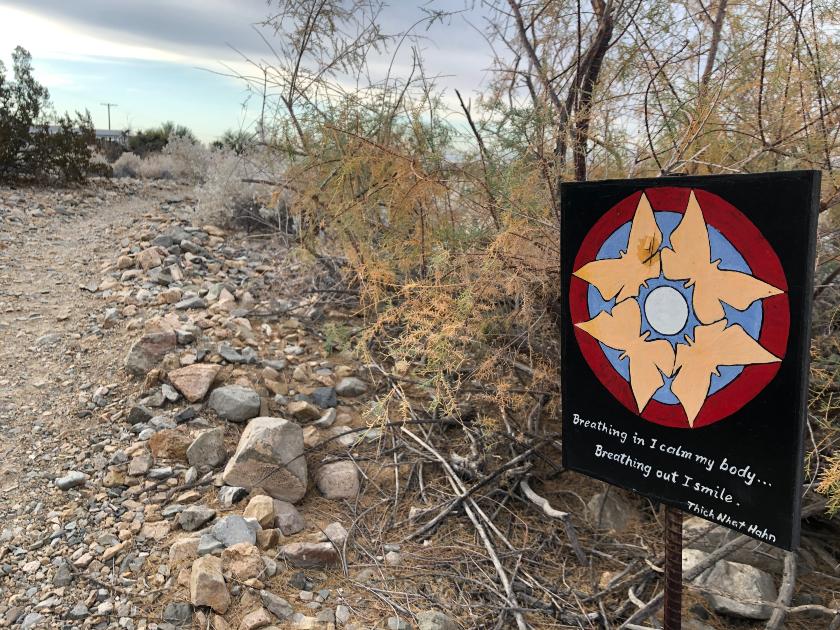 FOY trail signs