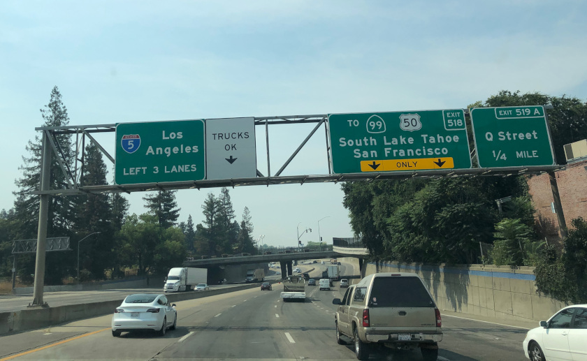 Interstate 5 Pandemic Traffic