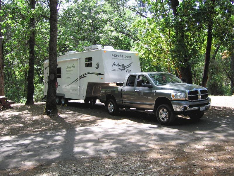 Lake Francis Boondocking