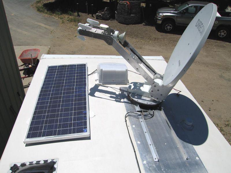 Solar and Satellite atop our Arctic fox