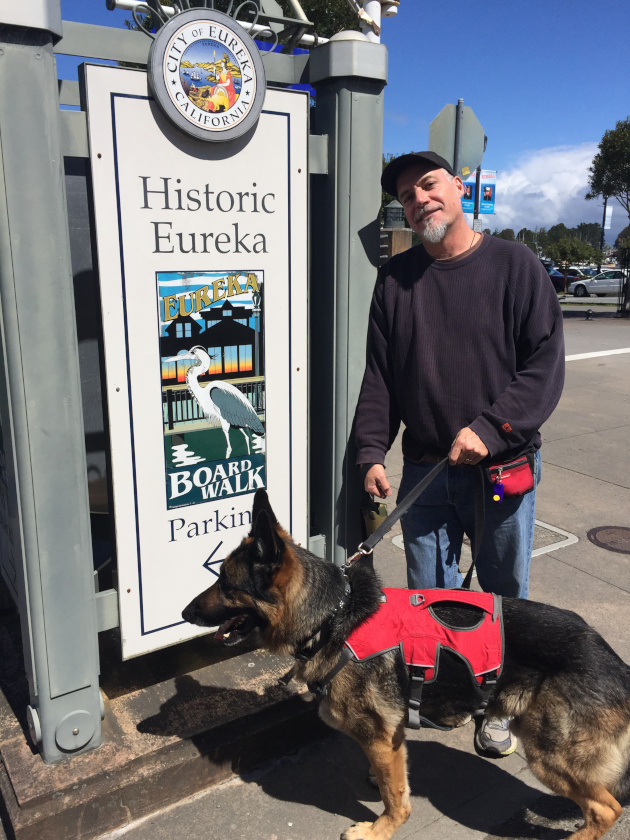 Eureka California Boardwalk Signage by Agreda