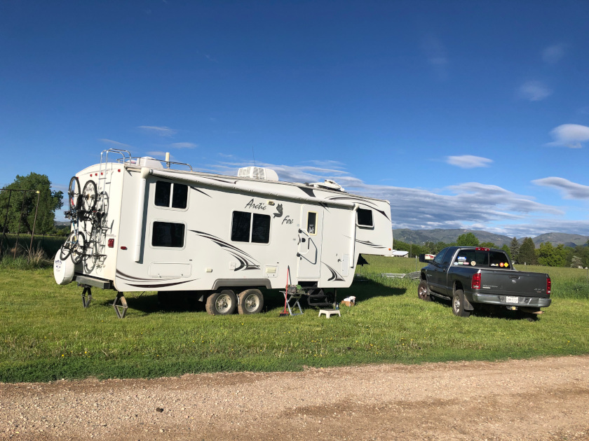 Fort Collins, RV boondocking, moochdocking,