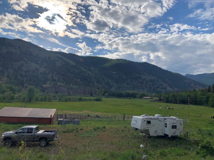 ranch workamping job campsite