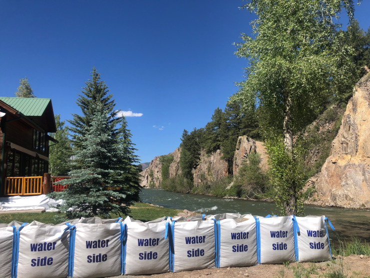 Lake City Colorado 2019 Flood Preparation