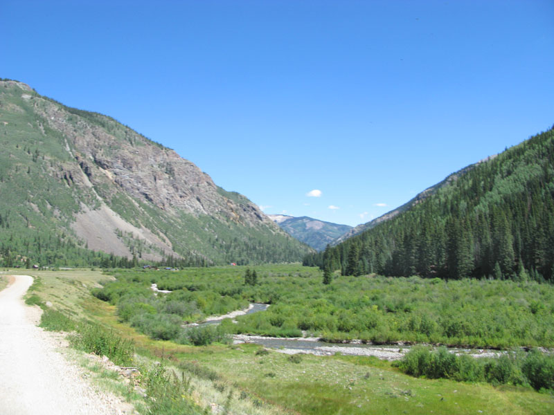 Henson Creek on Alpine Loop road near Lake City, CO