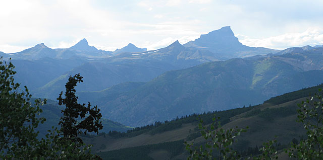 Uncompahgre Rocky Mountain Range Colorado Windy Point