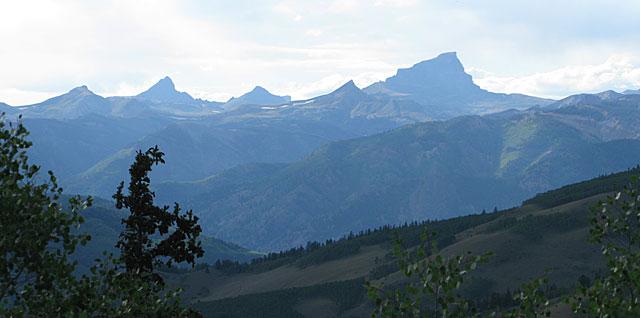 Uncompahgre Rocky Mountain Range Colorado Windy Point