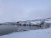 Snowy Watson Lake Larimer County Colorado