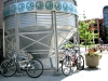 Bikes at Brewery in Historic old Town Fort Collins Colorado