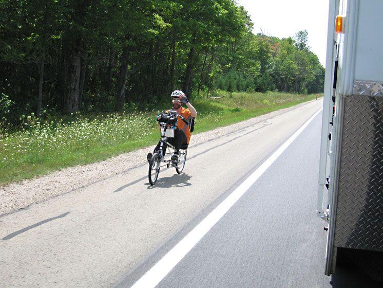 Biking Michigan