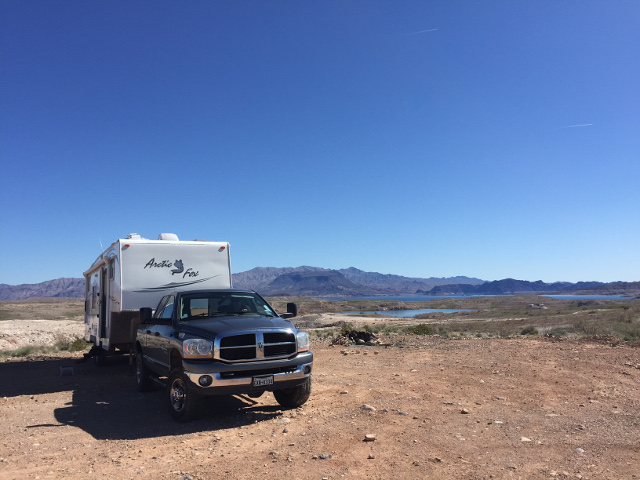 cheap Vegas camping