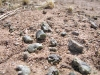 Radioactive Melted Sand Trinitite at Trinity Atomic Bomb Test Site