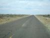 Empty Road to Trinity Site Atomic Bomb Test Monument