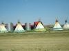 Modern Indian Reservation in  South Dakota