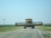 Playing Chicken with a Combine in South Dakota