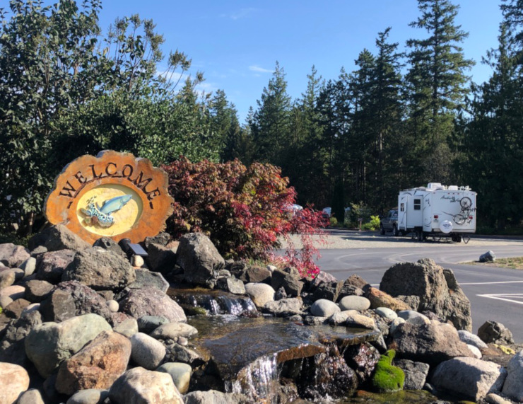 Boondocking Evergreen Coho Escapees Park