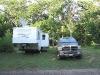 Boondocking in Fall Creek, WI