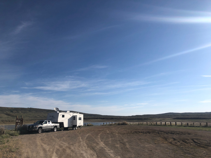 RV site rent pros cons