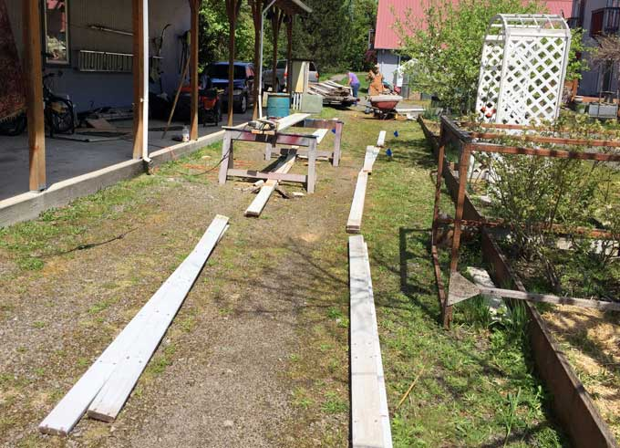 Making Garden Beds Workamping Labor