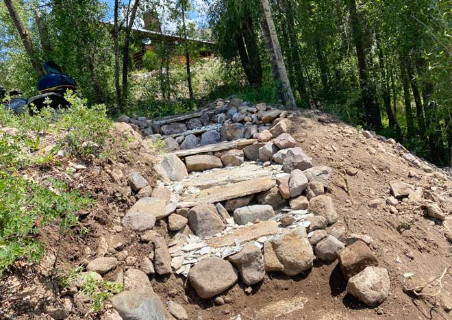 Vickers Ranch Rock Steps