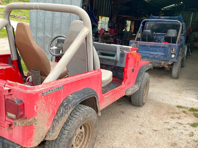 Old Jeeps