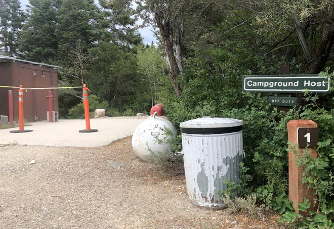 No Campground Hosts Great Basin National Forest