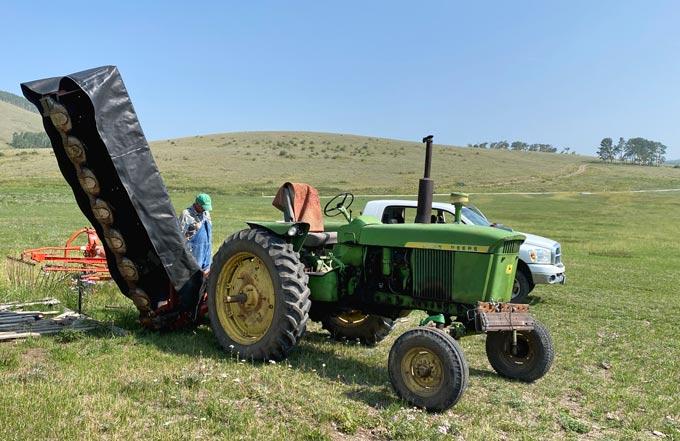 Vickers Ranch Hay Equipment