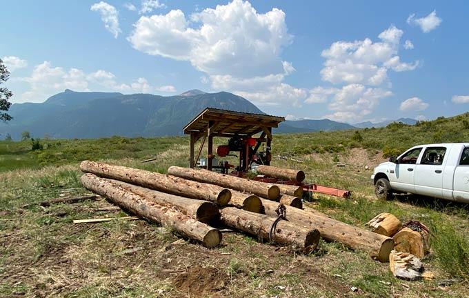 Vickers Ranch Logging