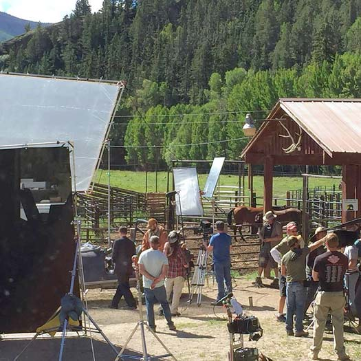 Hoax The Movie filmed at Vickers Ranch September, 2016