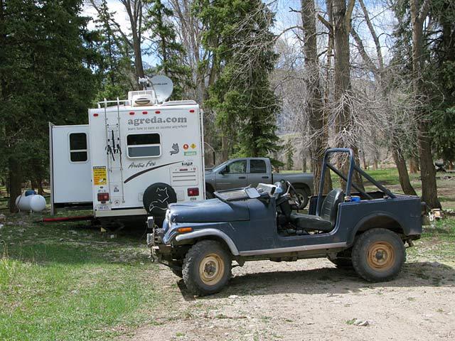 Workamping Accomodations at Vickers Ranch
