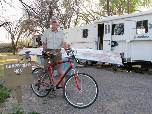 Rio Grande Village Big Bend Texas RV Campground Volunteer Host