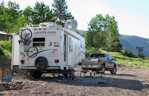 Workamping RV Site at Vickers Ranch, Colorado
