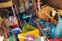 tool trailer mess
