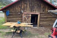 New Ice House Door