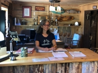 Rene Workamping Vickers Ranch Office