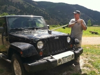 Vickers Ranch Workamping Job Washing Jeep Rentals