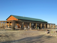 caretaking at Arizona straw bale ranch house
